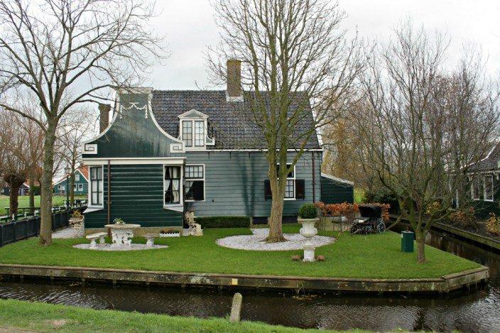 Casa de Zaanse Schans, el pueblo de los molinos de Holanda