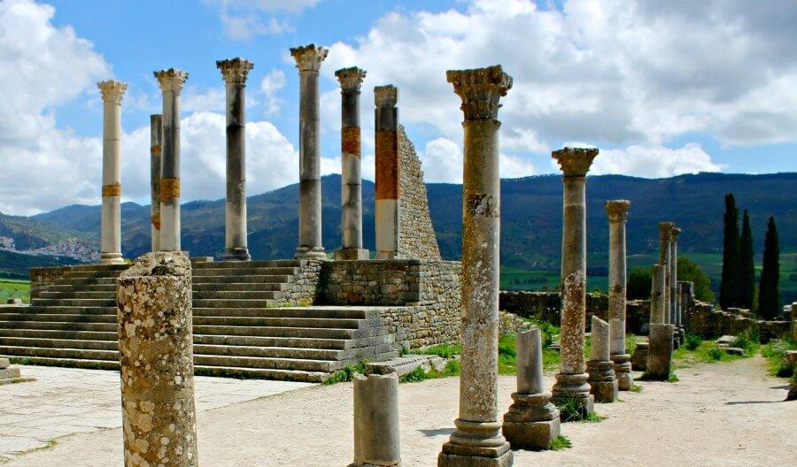 Columnas de Volubilis