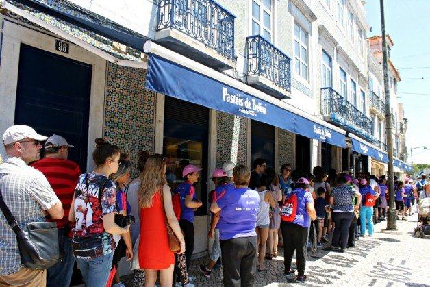 Comprar pasteles de Belém en Lisboa