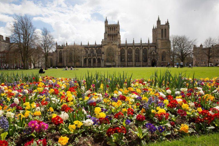 Flores en Bristol - Foto de VisitBritain