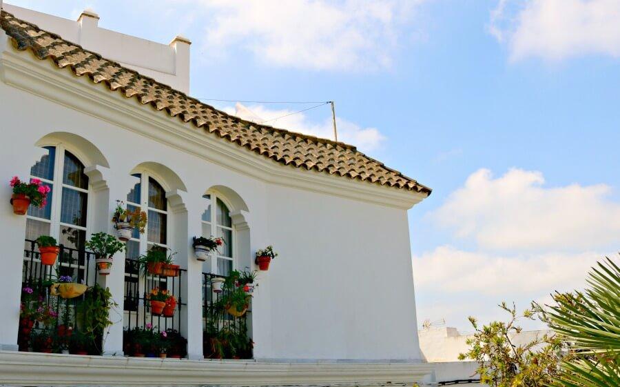 Floridos balcones en Medina Sidonia