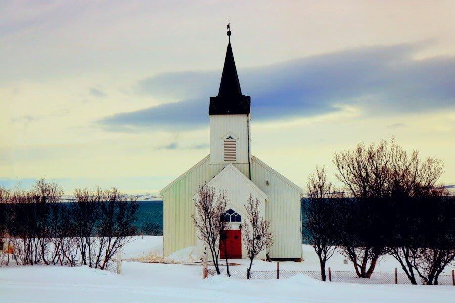 Iglesia en el norte de Noruega