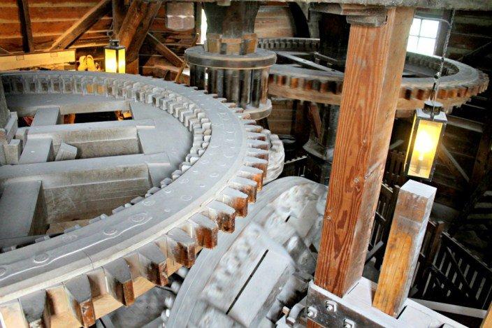 Interior del molino de Kat