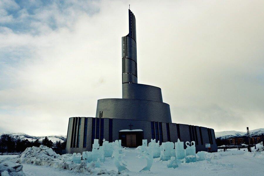 La Catedral de las Auroras en Alta