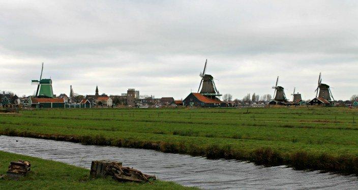 Los molinos de Zaanse Schans