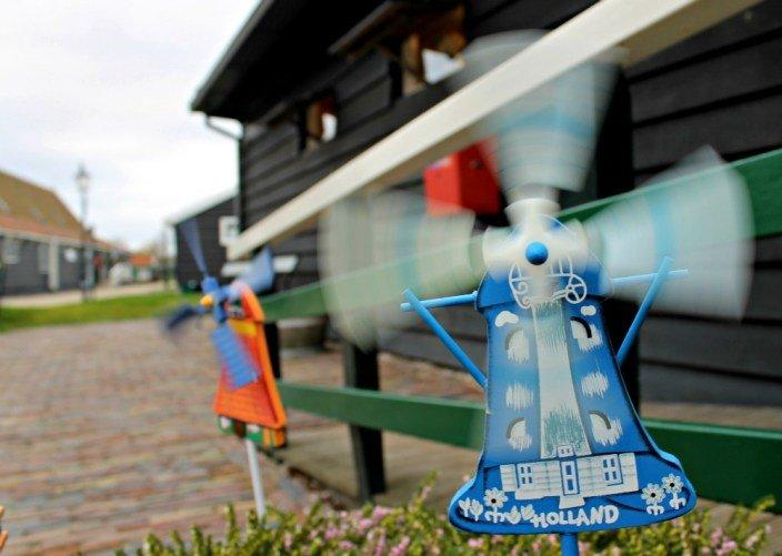 Los molinos la imagen de Holanda