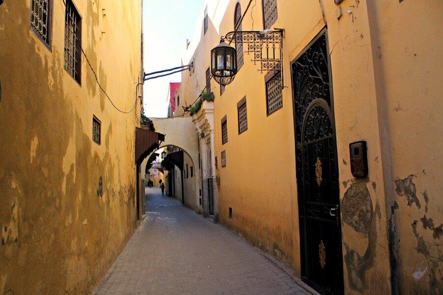 Medina de Meknès, en Marruecos