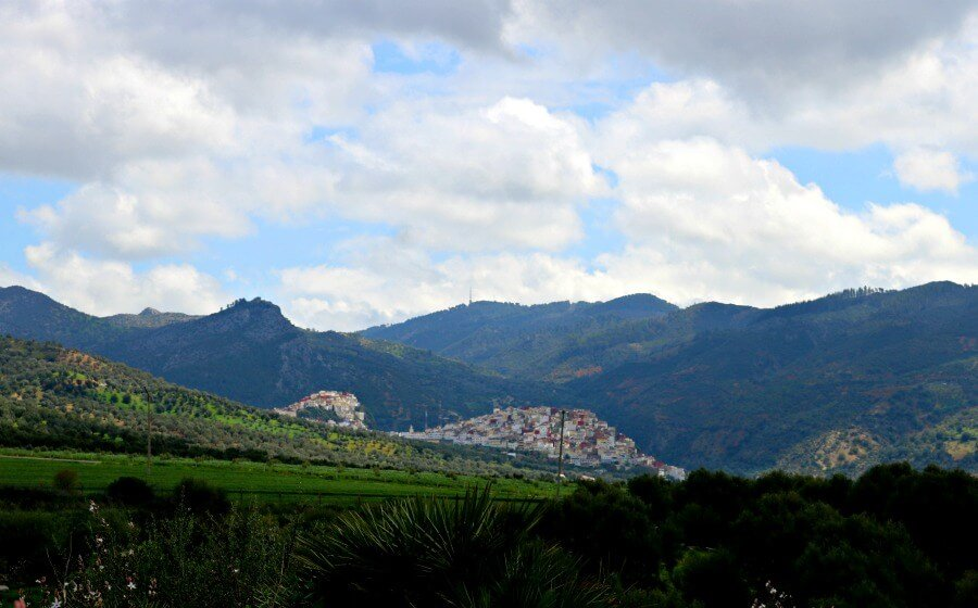 Moulay Idriss desde Volubilis