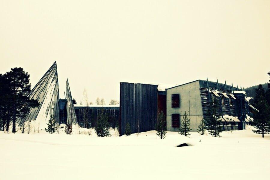 Parlamento Sami en Karasjok - Noruega