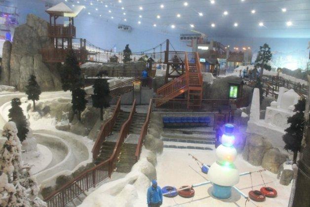 Pista de esquí - Centros comerciales de Dubái