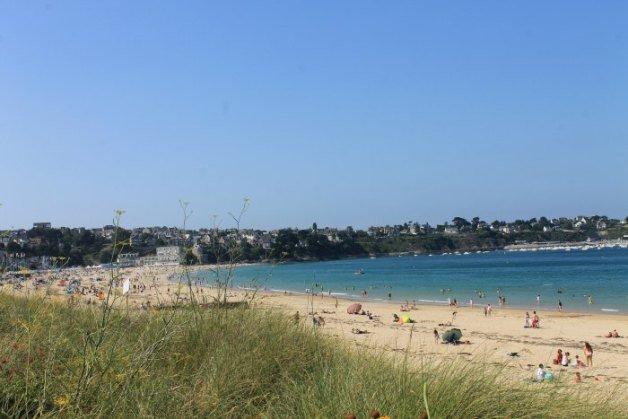 Playa de Saint-Calé en la Bretaña