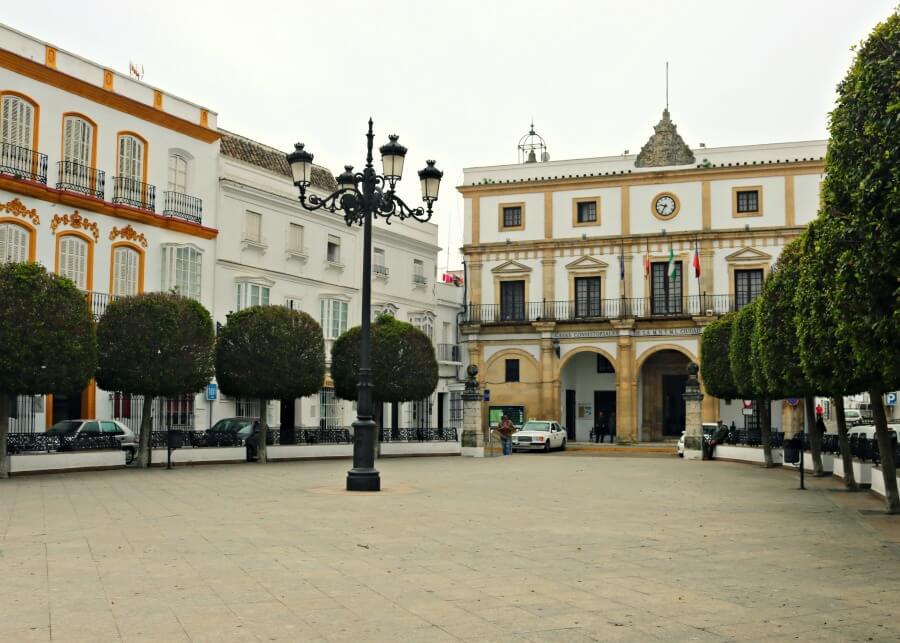 Plaza de España en Medina Sidonia