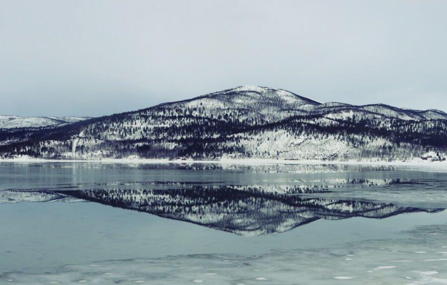 Reflejos mágicos en Noruega