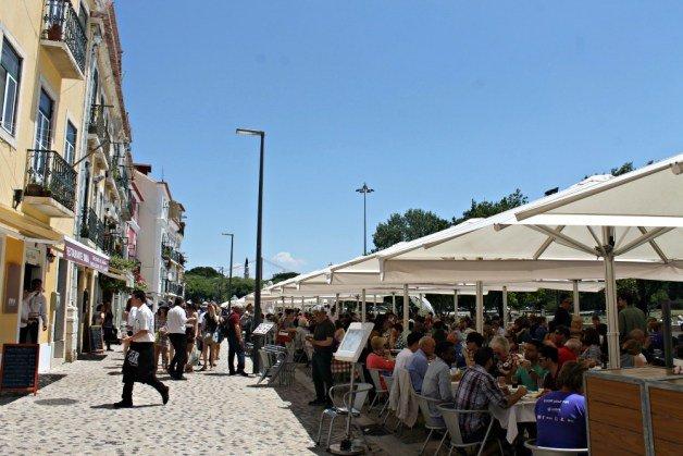 Restaurantes de Belém - Comer en la Rua Vieira Portuense