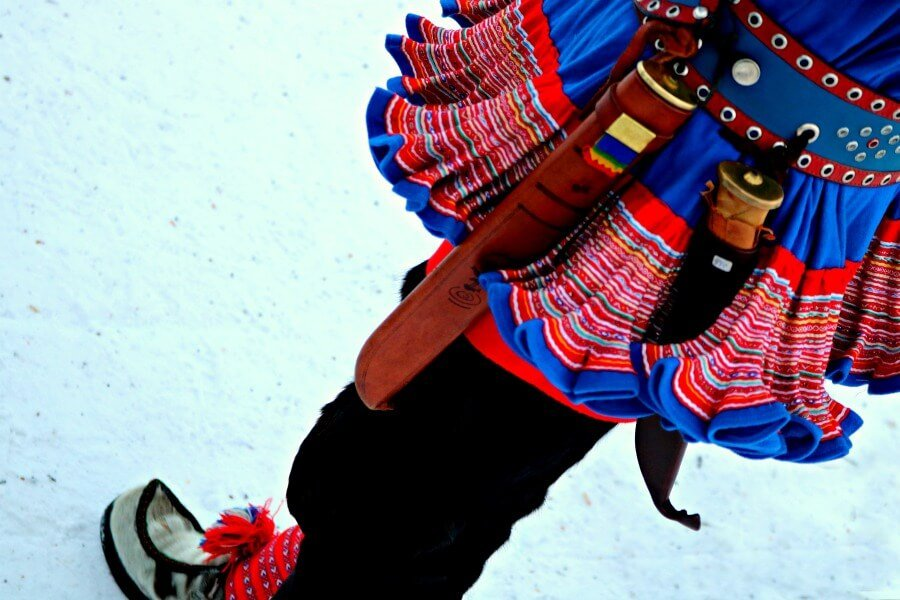 Ropas típicas de los Sami