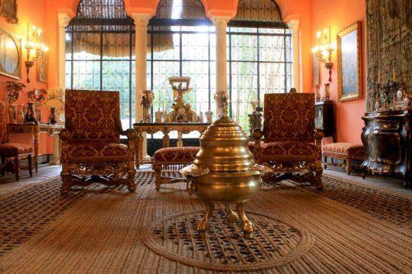 Salones del Palacio de Dueñas de Sevilla