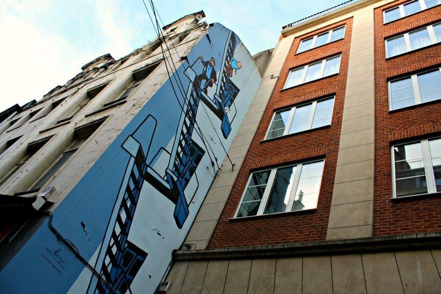 Cómic de Tintín - Qué hacer en Bruselas