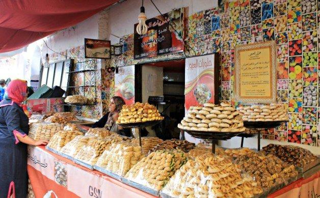 Dulces marroquíes en Tetuán