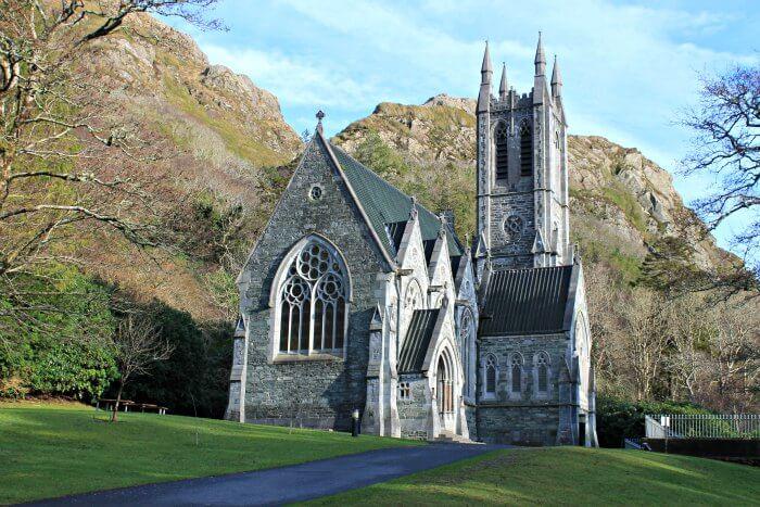 Iglesia Gótica de Kylemore Abbey