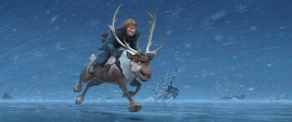 Kristoff de Frozen es Sami