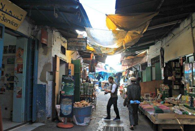 Las calles de la Medina de Tetuán