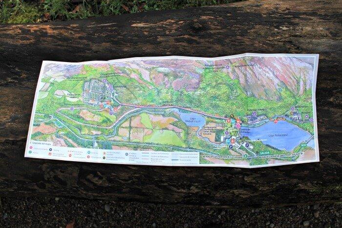 Mapa de la Abadía de Kylemore en Irlanda