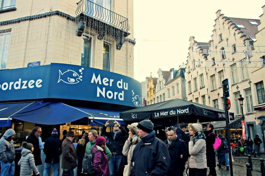 Mer du Nord - Dónde comer marisco en Bruselas