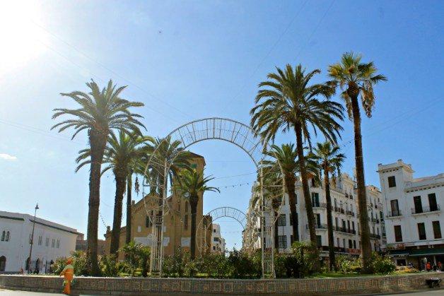 Plaza Moulay y El Mehdi Tetuán