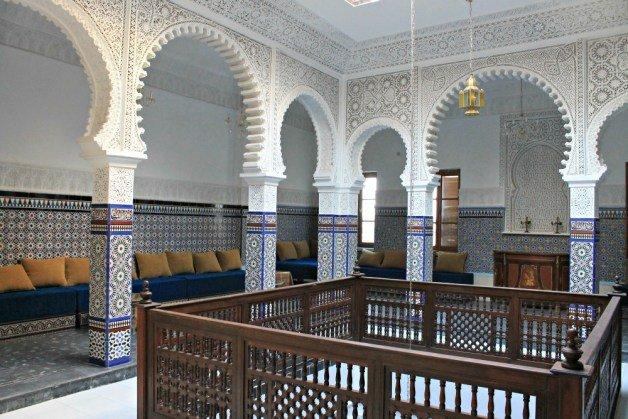 Salón del Riad de Tetuán