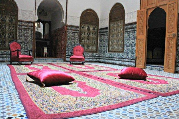 Salón rosa - Dormir en Tetuán