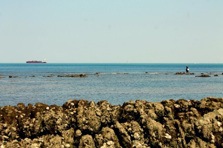 Sube la marea en Chipiona