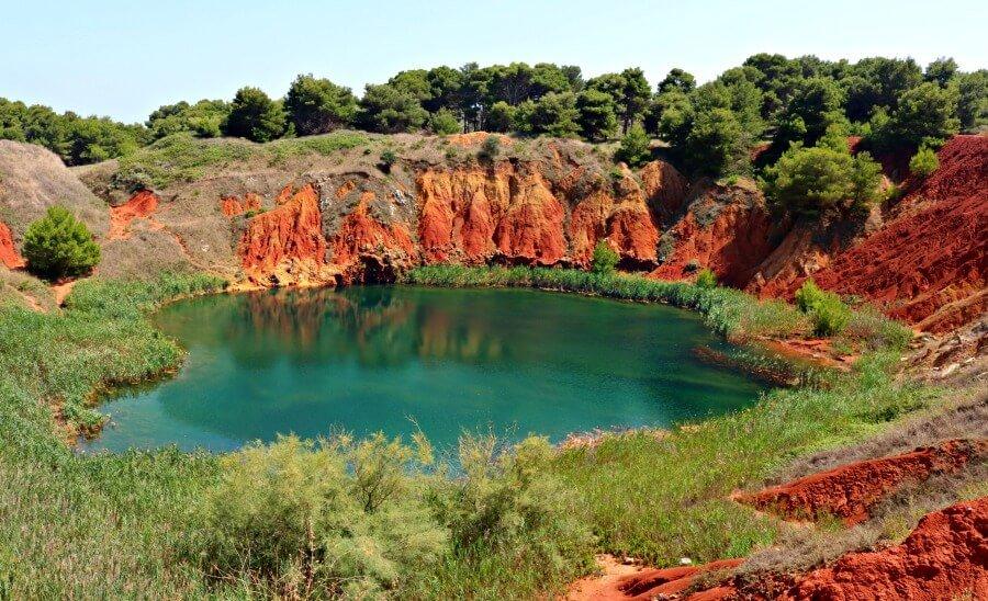 Cava di Bauxita - Secretos del sur de Italia