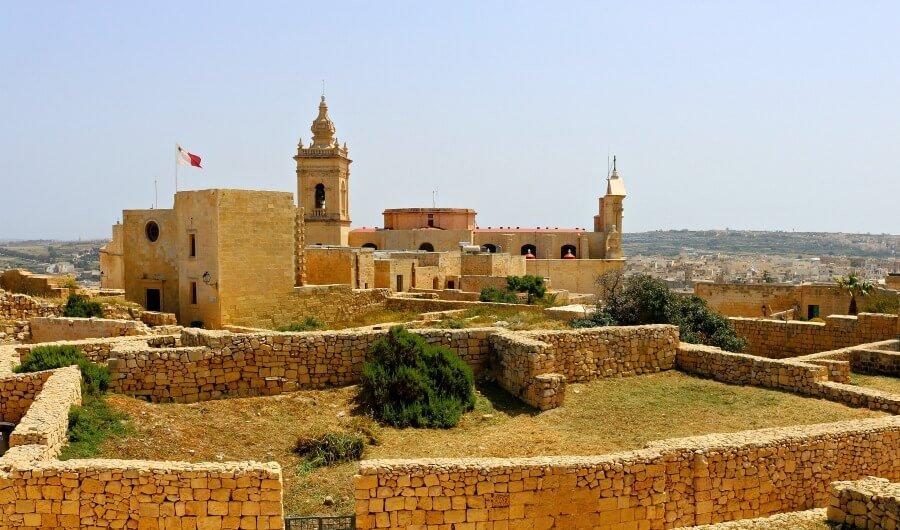 Ciudadela de la isla de Gozo - Qué ver en Malta