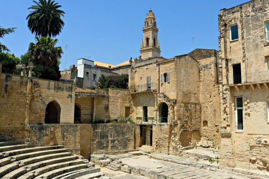 El Teatro Romano de Lecce - Qué ver en Puglia