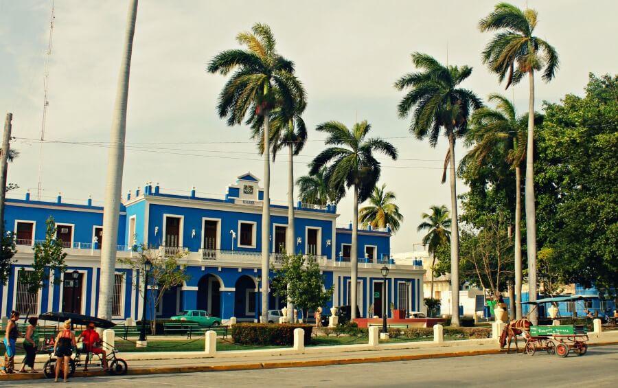La antigua Aduana de Cienfuegos en Cuba