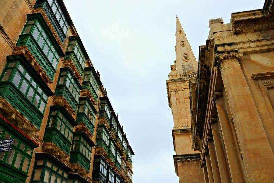 Los balcones de madera que ver en Malta