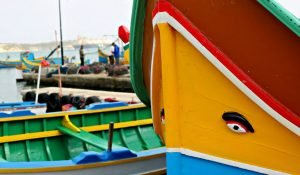 Luzzu, las barcas con ojos de Marsaxlokk en Malta