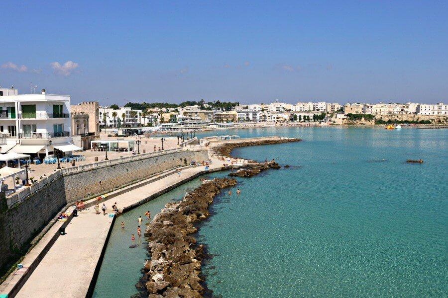 Otranto desde la muralla - Ruta por Puglia
