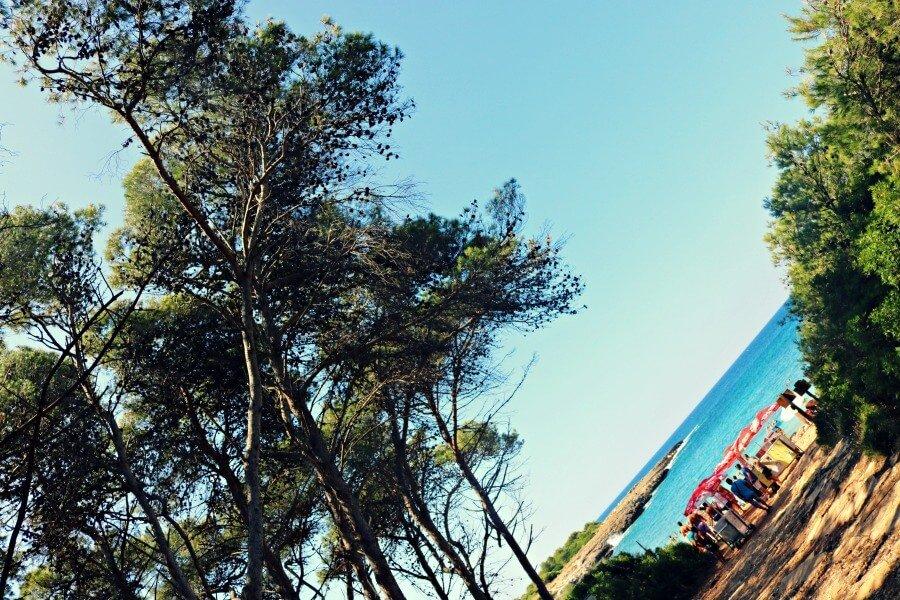 Playa de Porto Selvaggio - Ruta por Salento