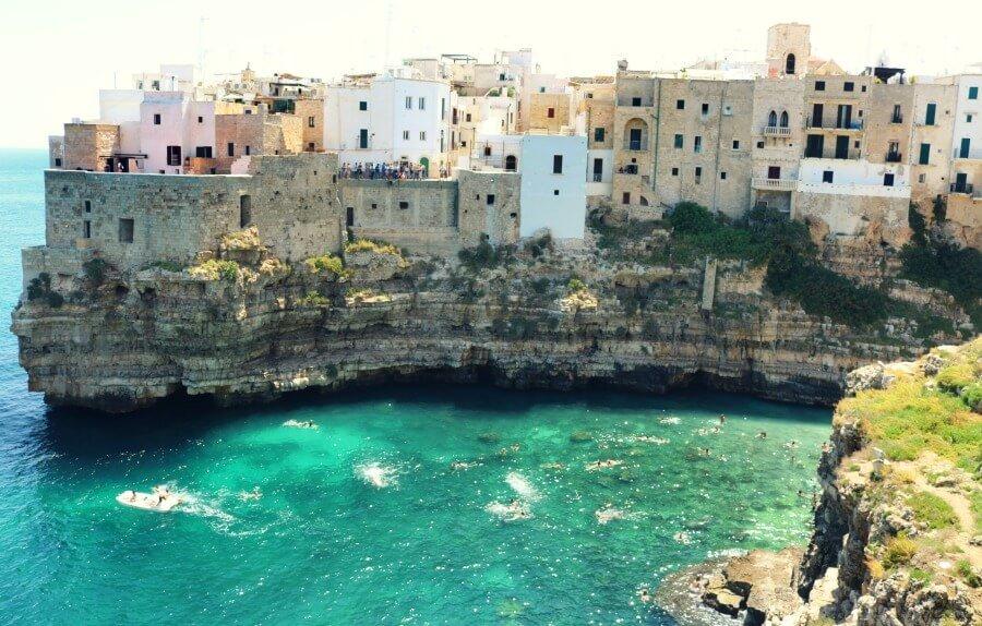 Polignano a Mare - Ruta por Puglia