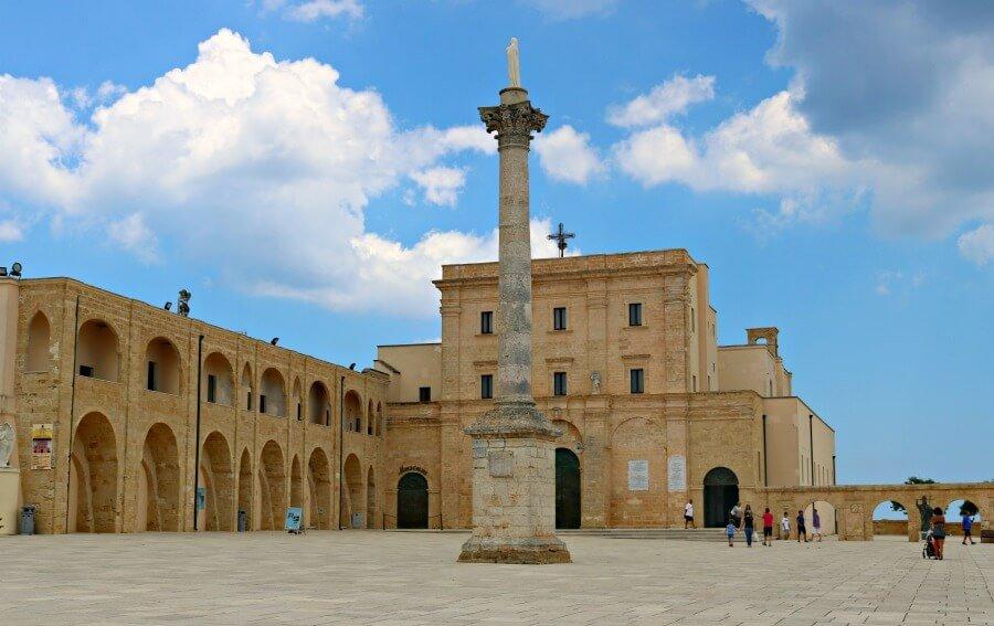 Santuario de Leuca en el Cabo de Leuca, Puglia