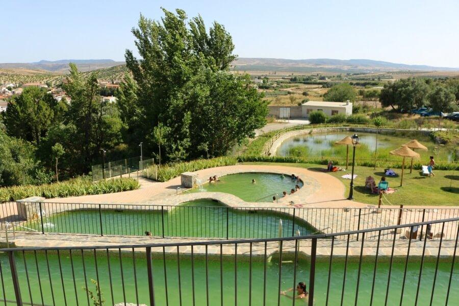 Balneario de La Malahá  - Aguas termales en Granada