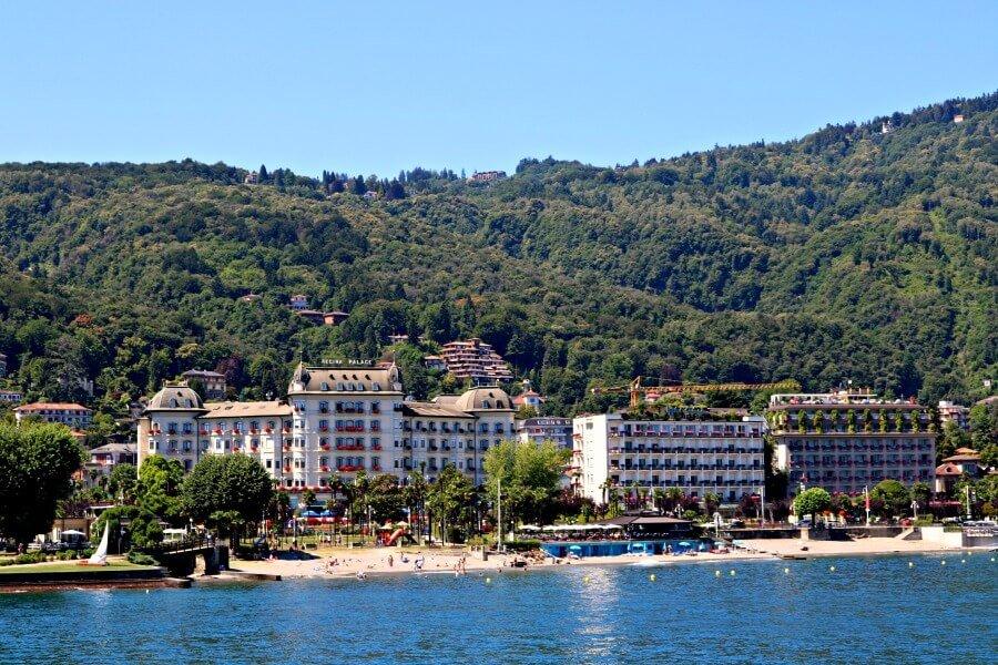 Hoteles en mansiones en el Lago Verbano