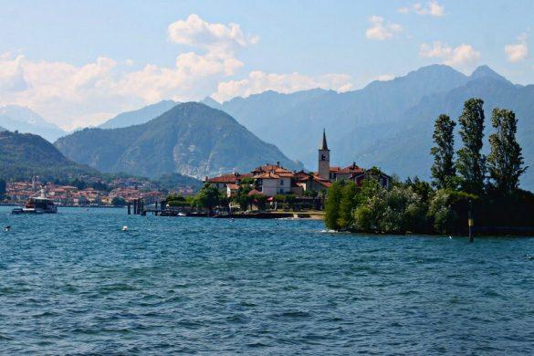 La Isola dei Pescatori en el Lago Maggiore - Italia