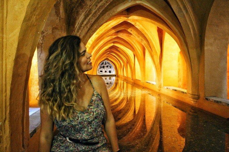 Los baños del Alcázar en Dorne