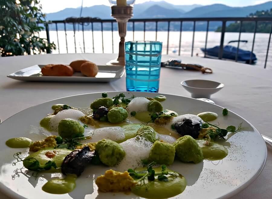 Menú degustación en La Tavola, una estrella Michelín en el Lago Maggiore