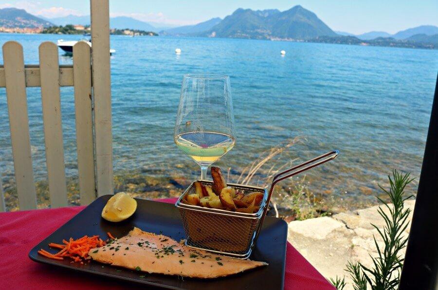 Trucha del Lago Maggiore