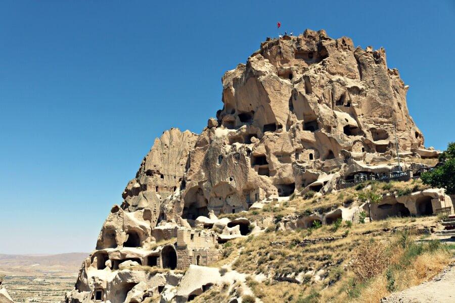 Castillo de Uçhisar, una de las mejores cosas que ver en Capadocia