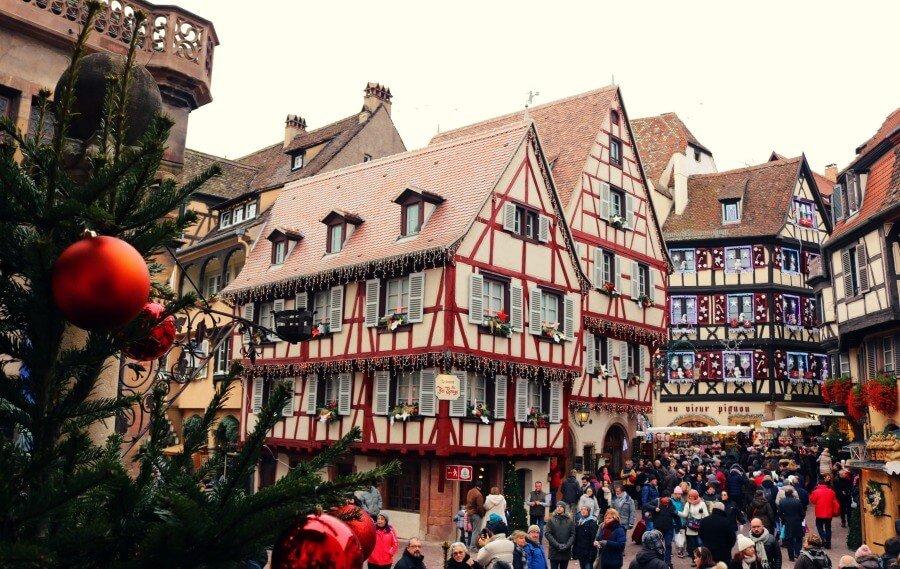 Colmar es el rincón de la Alsacia en Navidad