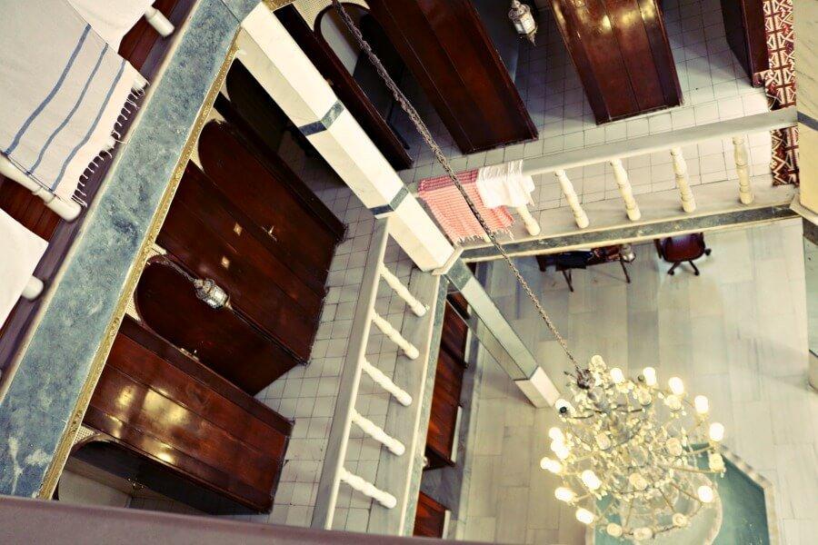 El edificio de Aga Hamami, mi baño turco en Estambul